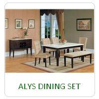 ALYS DINING SET